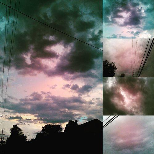 Stormclouds Storm TornadoWarning Tornado Listentothosesirens Thunder Lightning