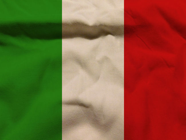 Italian flag Backgrounds Close-up Day Fabric Full Frame Indoors  Italy Italy Flag Nation No People Patriotism Red Rome Rome Italy Sheet State Textile