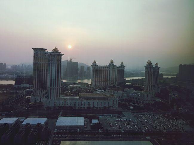 Glitch Sunset