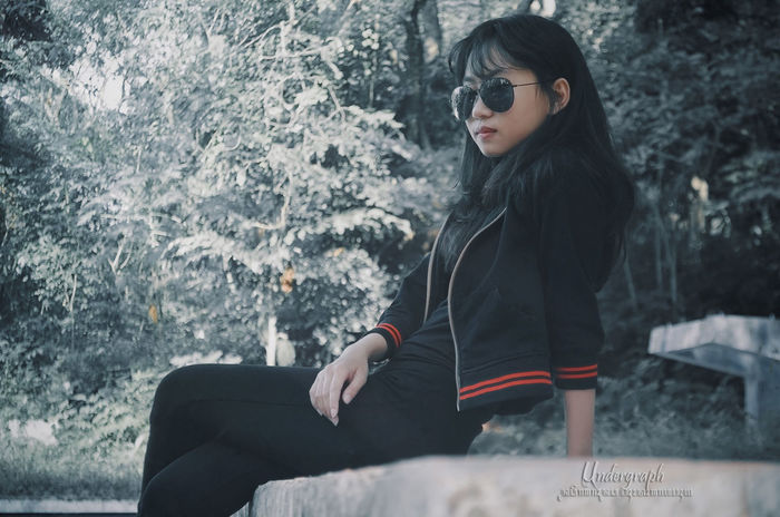 Adult One Person Only Women One Woman Only People Eyeglasses  Indoors  Adults Only Young Adult Sitting Sport One Young Woman Only Day Young Women Undergraph Beauty Week On Eyem Outdoors EyeEmNewHere Semarang Rock'n'Roll Beautiful Woman Sexygirl
