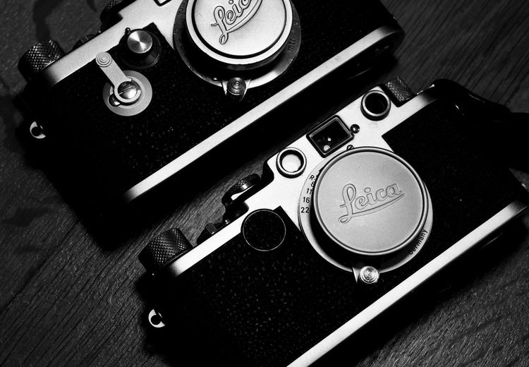 Historic Cameras Screwmount Analog Cameras Black And White Film Film Cameras Leica Leica IIIg Leica IiF