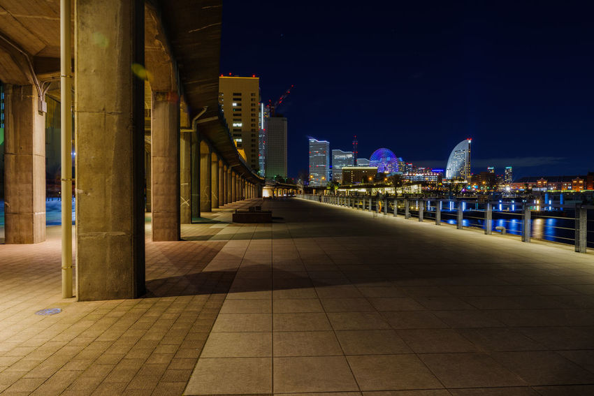 Architecture Built Structure Building Exterior Illuminated Night City Building Sky No People Nature Office Building Exterior Modern Outdoors Cityscape Travel Destinations City Life Skyscraper Direction The Way Forward Architectural Column Tiled Floor