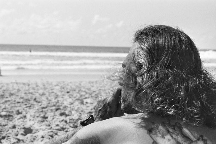 Horizon 35mm Minolta Noiretblanc Horizon Blackandwhite Lacanau Ocean Ilford Argentique France The Week On EyeEm
