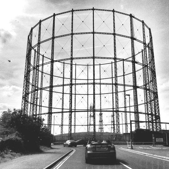 Tottenham London Architecture Industrial Urban Geometry