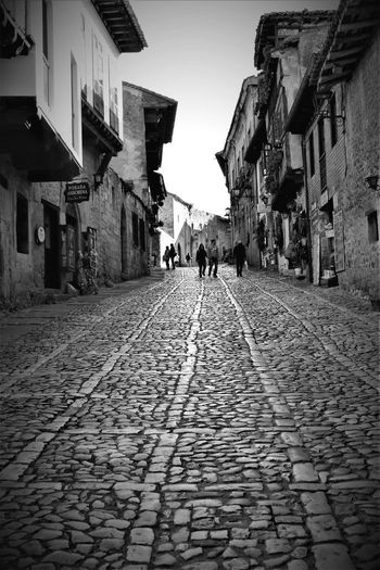 Cobblestone Built Structure Building Exterior Architecture Walking Street The Way Forward Lifestyles Day City