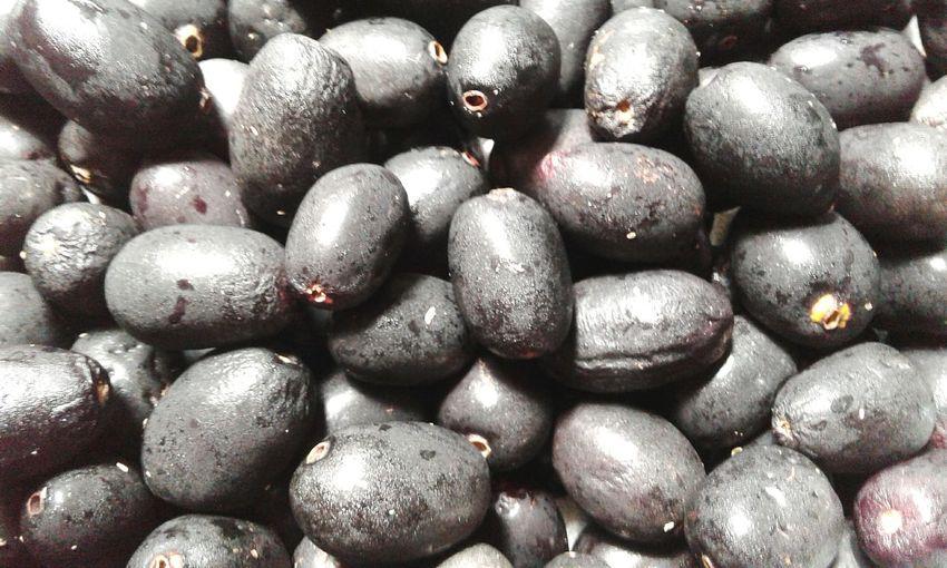 Black Fruit Black Plum Jambol Smartphonephotography Jamun Jambul Jaman Summer