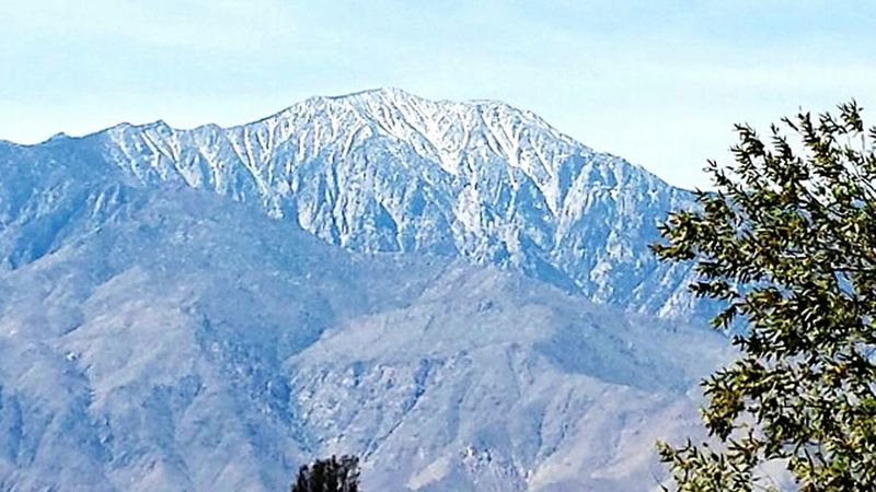 Looking at ? Mt. San Jacinto from Desert Hot Springs California ? MtSanJacinto Palmsprings Landscapes Mountains Desert Majestic