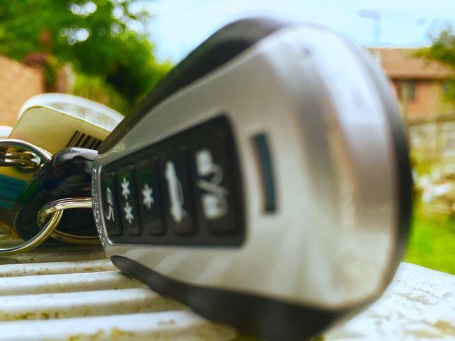 keys Alarm clifford closeup