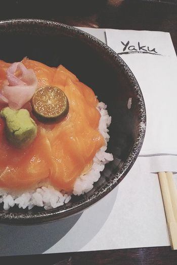 Yaku Shakedon Salmon In My Mouf Japanese Food