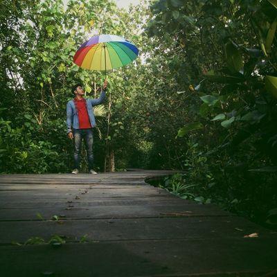 Umbrella boy IM_Team AMPt_community Iphonesia