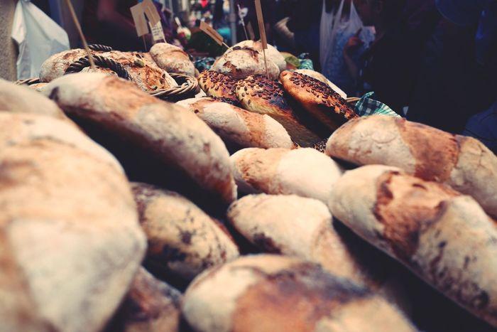 Market Breakfast Fresh Bread SPAIN