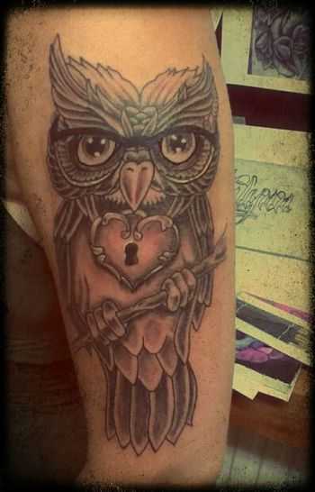 my latest Tattoo Owl Owl Tattoo Girls With Tattoos