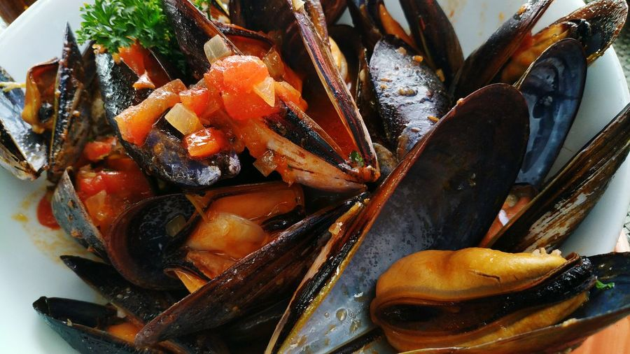 Food Food And Drink Seafood No People Healthy Eating Close-up Ready-to-eat Freshness Mussels
