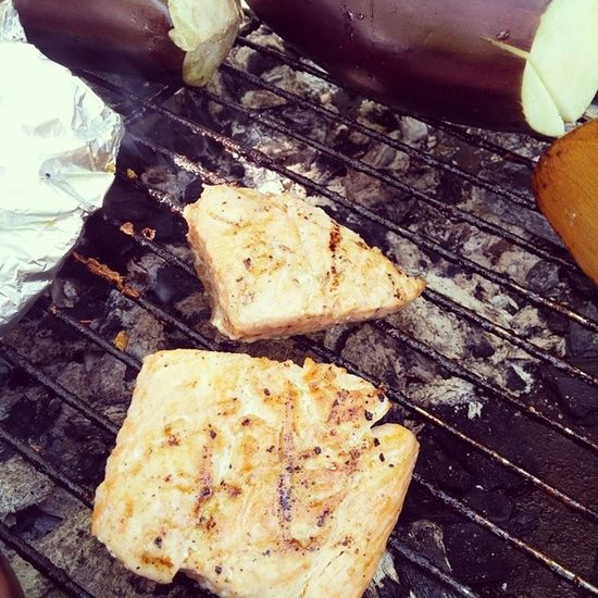 Grill Healthysunday Grilledsalmon LoveSeaFood