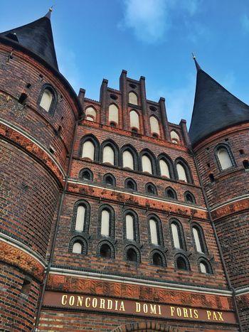 Lübeck Holstentor Architecture Baltics2k16