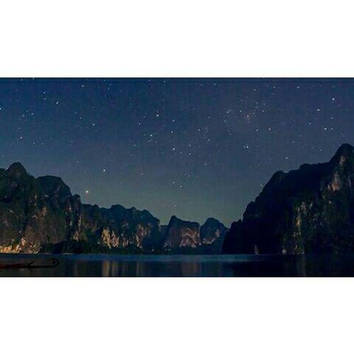 Time ยังไม่นอนเพราะสิ่งนี้ Kaosok Suratthani Relaxing Enjoying Life Thailand Culture Asian Culture Sleeping Stars Sky And Clouds