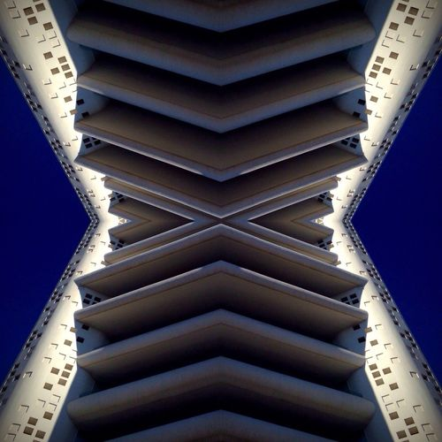 Architecture Architecture_collection Architectural Detail Layers Layers And Textures Design Shapes Building Building Exterior Sky Blue Blue Sky Mirror Mirrorless Buildings & Sky Architecturelovers Architectural Feature White Whitebuildings Pattern Pieces Pattern Pattern, Texture, Shape And Form Shape