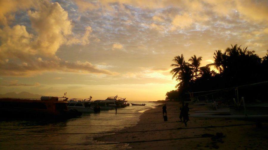 Sunrise at Nusa Penida Island