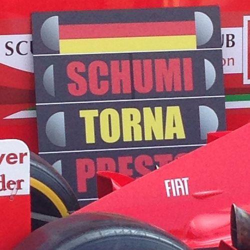 Shumi Shumitornaacasa ForzaShumi Shumacher f1 formula1 formulauno deutschland germany shumycomebackhome