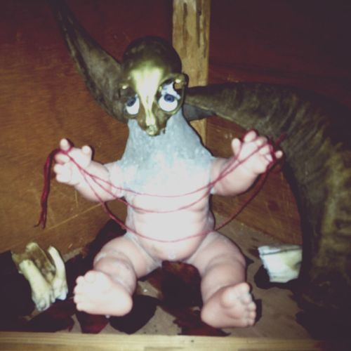 Sculpture Strange Bones Toy Abandoned Places Notes From The Underground Witch Dark Voodoo