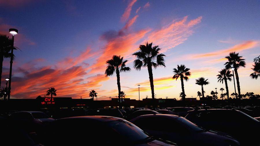 Glitch fall skies in San Diego First Eyeem Photo