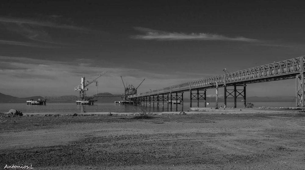 Sea Sky Outdoors Beach Bridge - Man Made Structure Travel Destinations No People