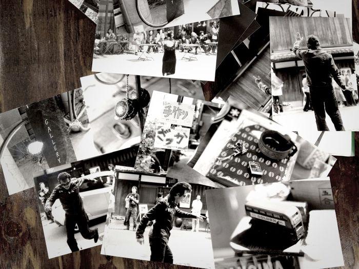 モノクロームフィルム、思ったより早く現像・プリント出来た。(カメラのキタムラにて)