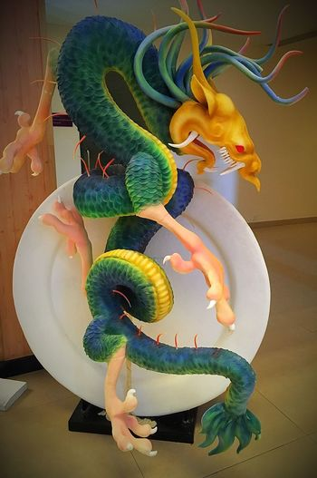 It's one thing to read about dragons...and another to meet them 😉 Dragons Foodart Amazing Creative Intricate