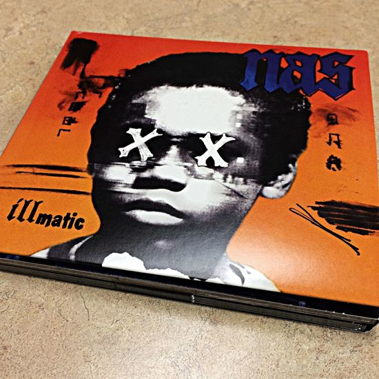 Nas Illmatic HipHop Classic