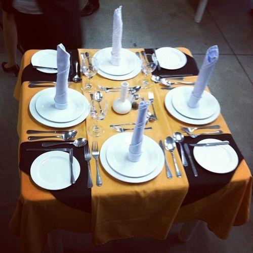 Fine Dining set-up FNB