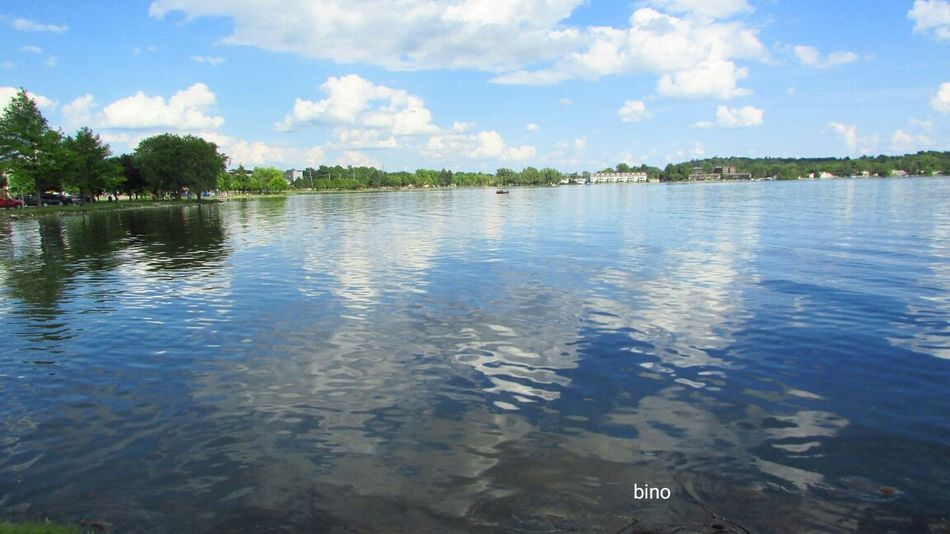 Afternòon Shoot Around The Lake Sunny Day 🌞 Beautiful Day Blueness! Tranquility Reflection Lake Cadillac Pure Michigan
