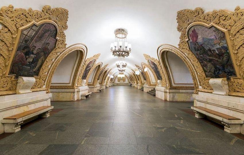 Metro Photo KIEVSKAYA Moscow Taking Photos