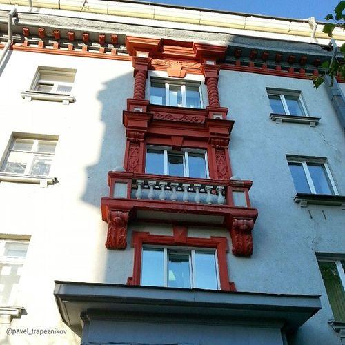 20140621 , Новосибирск , улицаСоветская . Балкон/ Novosibirsk , Sovetskaya street. Balcony.