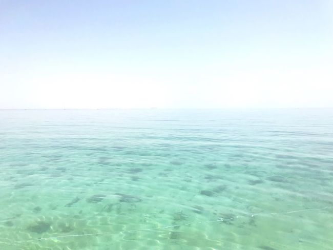 The tranquility of the endless sea Sea Sky Water Beauty In Nature Tranquil Scene Tranquility Scenics - Nature Horizon Nature