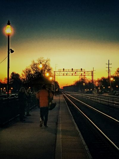 East Bound to Chicago Early Morning Train Train Station EyeEm Best Shots EyeEm Gallery EyeEm Iphonephotography Amateur Photography Sunrise