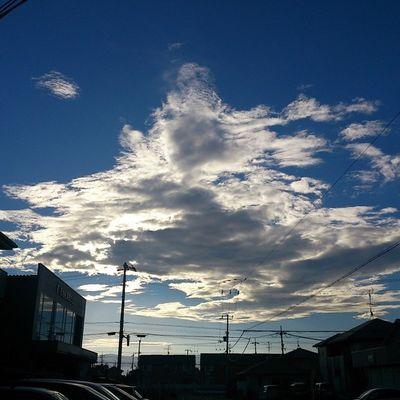なんか涼しい朝ですね♪(*≧∀≦*)