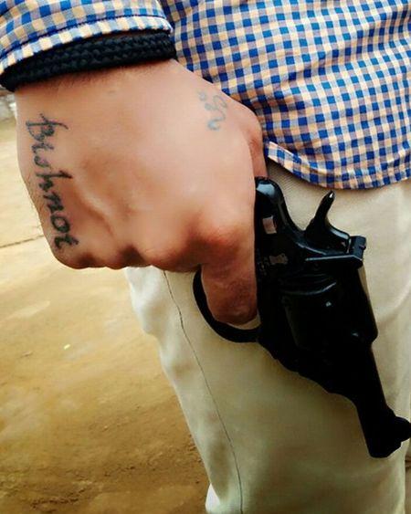 Tattoo Life Pistol Bishnoi
