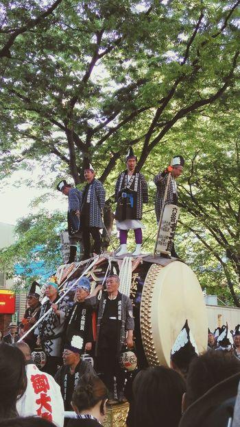 Festival Shrine Shrine Of Japan Tokyo,Japan Lively