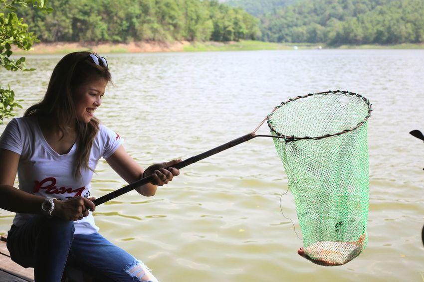 Mae Taeng Reservoir Phrae Thailand