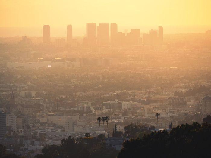 LA in the dusk
