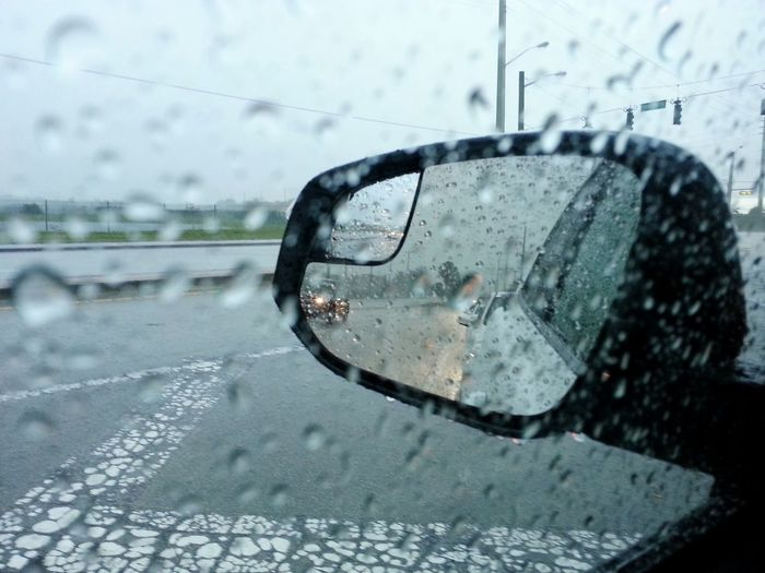 Rainy season! Driving Home Stormy Weather Florida Life Drivecarefully Droplets Drops Of Water Raindrops