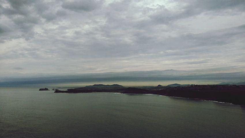 Cantabria Sea And Sky Sea Clouds Landscape