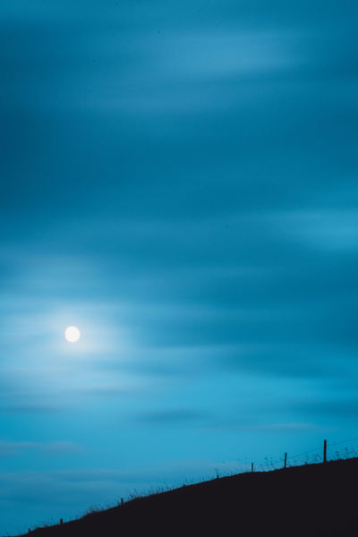 Moon over Ore hills. Outdoors Scenics Nature Sky No People Landscape Moon Tranquil Scene Tranquility Rural Scene Beauty In Nature Day Astronomy Sweden Pentax Dusk Silhouette Cloud - Sky Dramatic Sky Beauty In Nature Non-urban Scene Breathing Space Serenity Nature Idyllic
