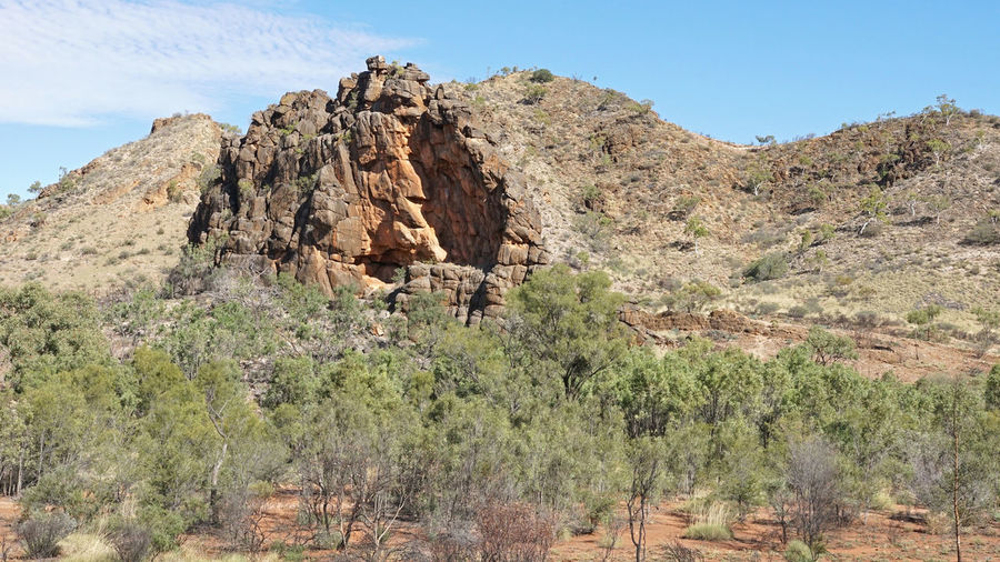 Corroboree Rock, East MacDonnell Ranges, Northern Territory, Australia Australia Beauty In Nature Corroboree Rock Countryside Down Under East MacDonnell Ranges Landscape MacDonnell Ranges National Park Nature No People Northern Territory Outback Outdoors Panorama Rural Scenery Scenics Sightseeing Tourism Tourist Attraction  Tranquility Travel Travel Destinations Trecking