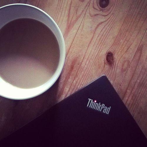 Appleandcoffee war gestern. ThinkPad Lenovo X1carbon Coffee