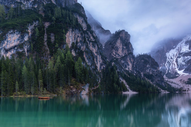 Photo taken in Braies, Italy