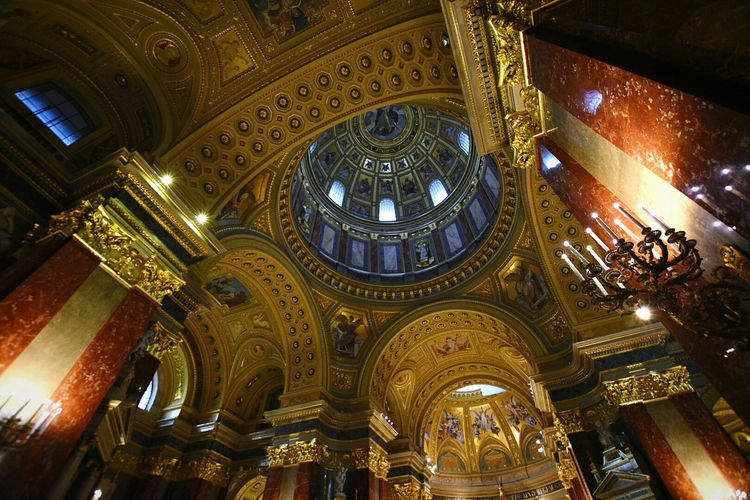 St Stephen's Basilica Budapest Holiday EyeEm Best Shots The Traveler - 2015 EyeEm Awards OpenEdit EyeEm Gallery Hello World Check This Out Amazing Architecture Cathedral