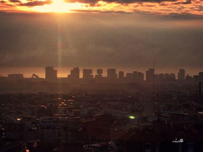 Enjoying The Sun Clouds And Sky Sunrise Barcelona