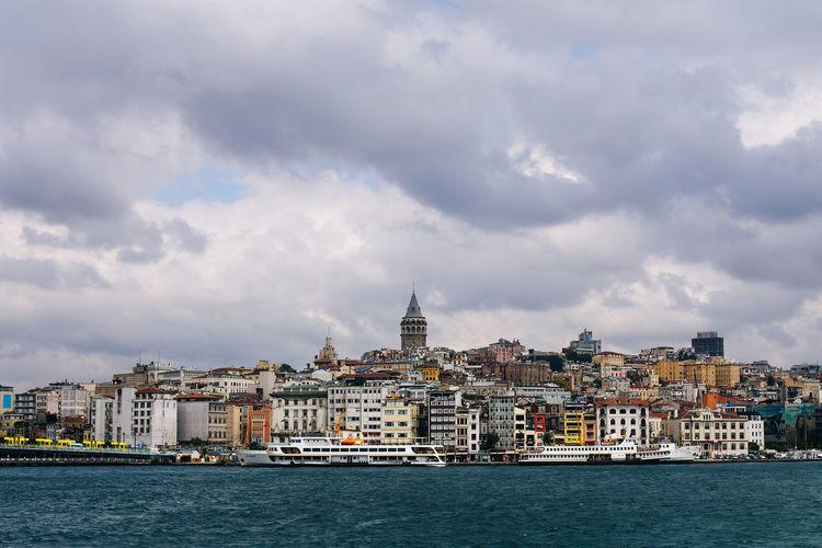 Scenic View Of Istanbul Coastline
