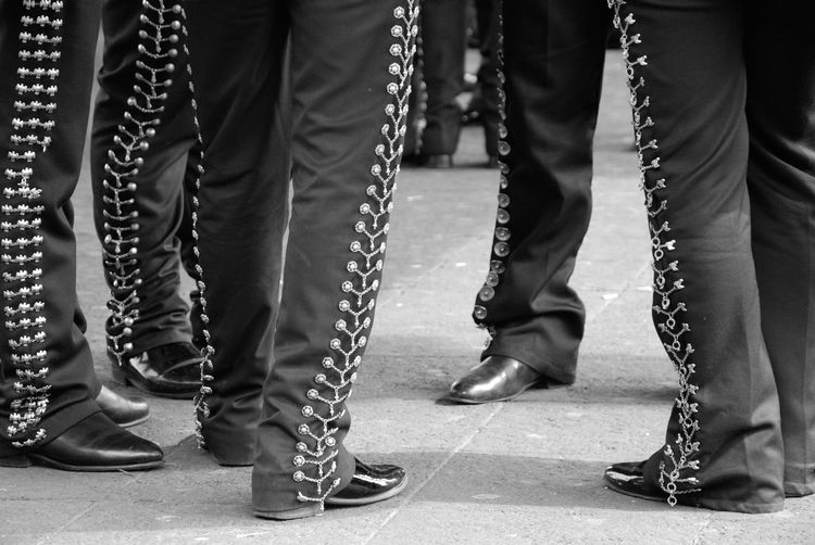 Getting Creative Mexico City Plaza Garibaldi Mariachi Black And White Legs Traditional Costume Street Photography Music Deceptively Simple B&w Street Photography Pattern Pieces Up Close Street Photography Miles Away Black And White Friday This Is Latin America